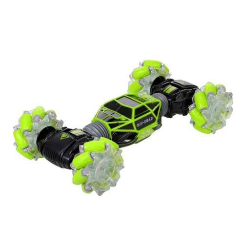 Машинка перевертыш управляемая жестами Skidding (Зелёный)