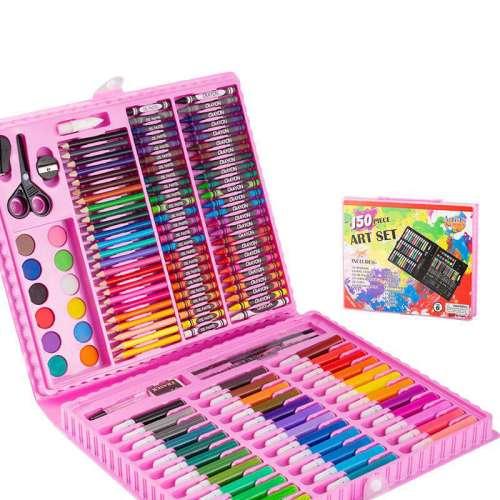 Набор юного художника в чемоданчике (150 предметов)