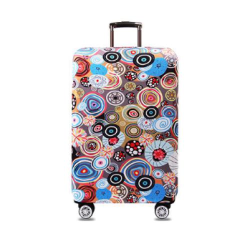 """Чехол для чемодана """"Цветы"""""""