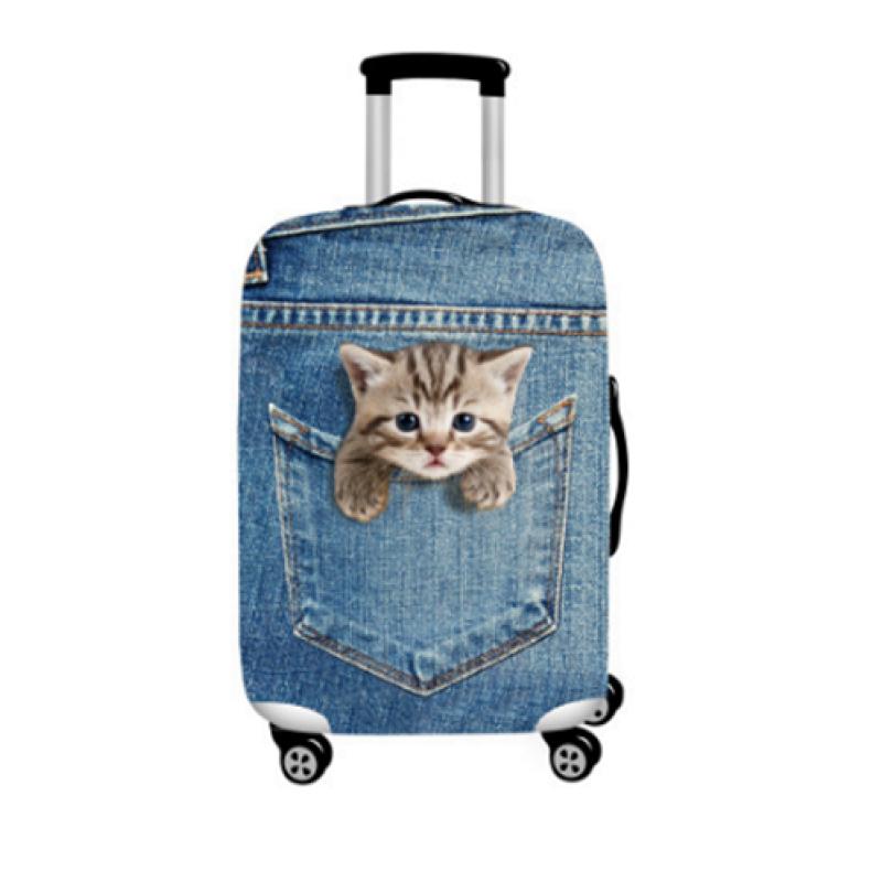 """Чехол для чемодана """"Котёнок"""""""