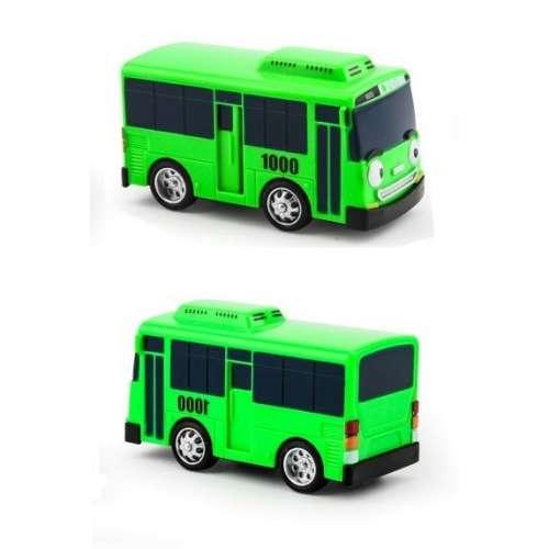 """Набор из 4 автобусов """"Тайо"""" инерционных (БЕЗ гаража)"""