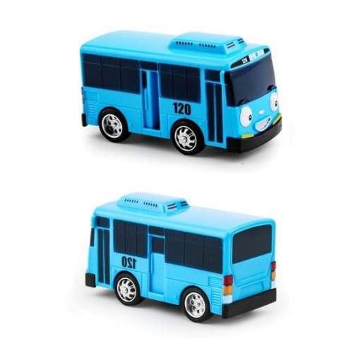 """Автобусы """"Тайо"""" инерционные БЕЗ гаража (цвет на выбор) + подарок"""