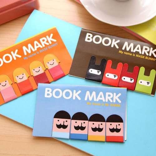 Магнитные металлические закладки для книг