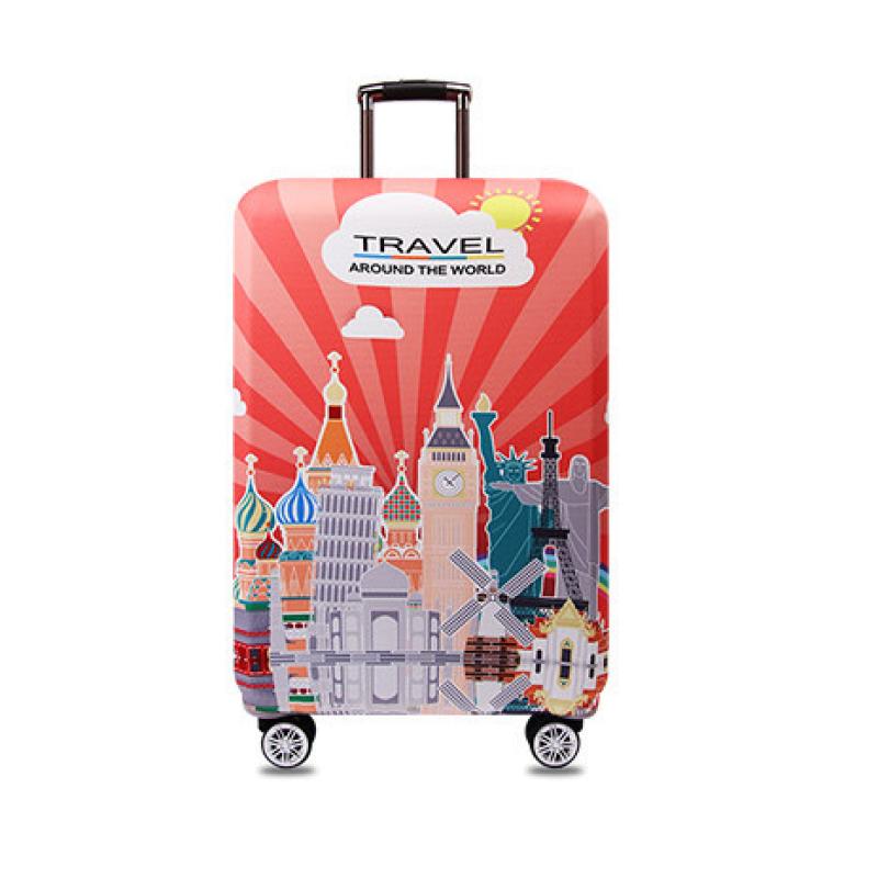 """Чехол для чемодана """"Travel around the World"""""""