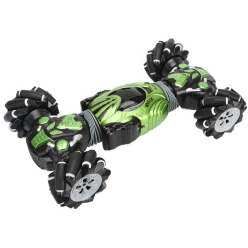 Машинка перевертыш управляемая жестами Twister Climbr Legends Champion (зелёная)