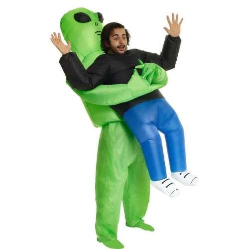 """Надувной костюм """"Похищение пришельцем"""""""