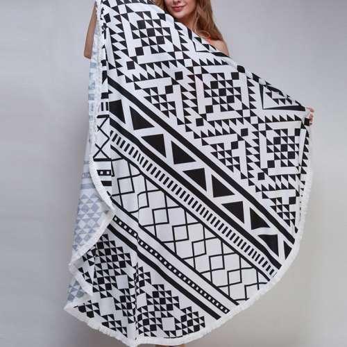 "Пляжное полотенце ""Black&white"""