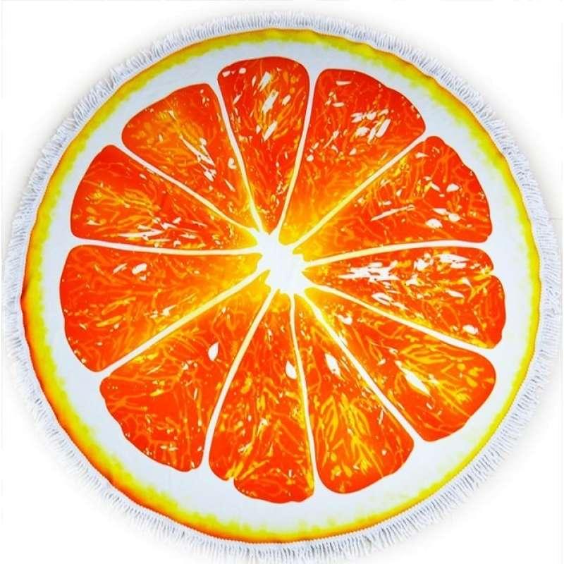 """Пляжное полотенце """"Апельсин"""""""
