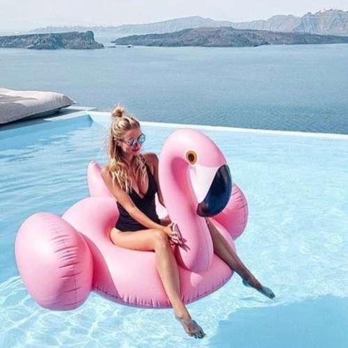"""Надувной """"Фламинго средний"""""""