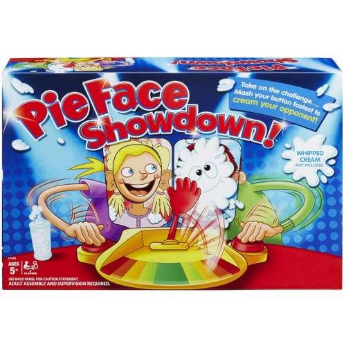 """Игра """"Pie face ShowDown"""" (пирог в лицо на 2 игрока)"""