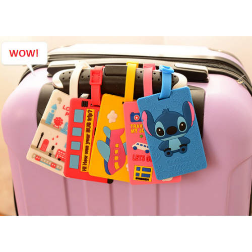 Бирка на чемодан с адресом или для школьной карточки