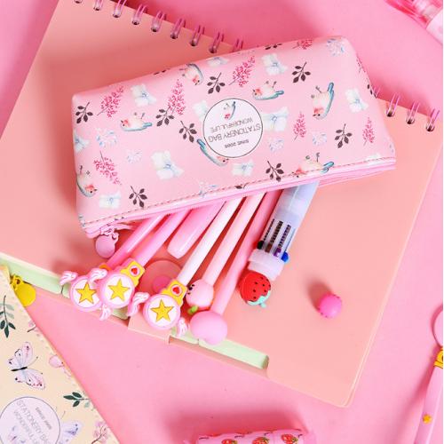 """Пенал """"Цветочки"""" для карандашей и ручек"""