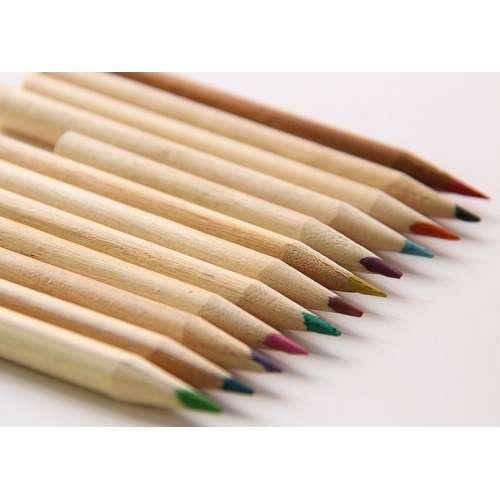 Карандаши цветные в футляре с точилкой