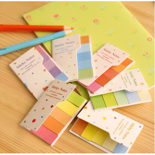 Закладки для книг и тетрадок разноцветные