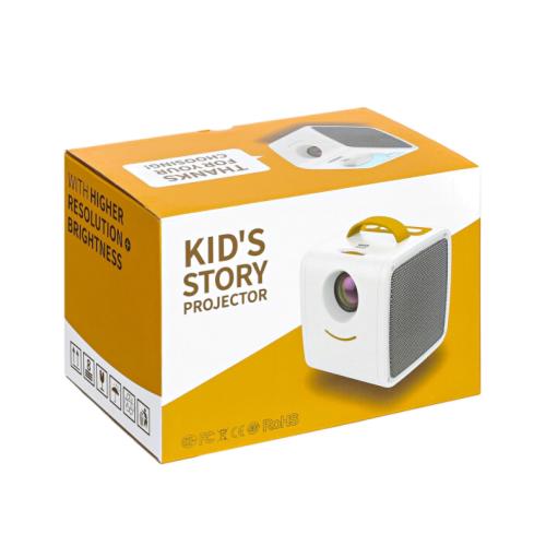 Компактный детский проектор для мультиков