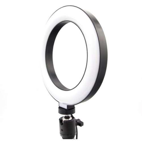 Кольцевая лампа со штативом 16 см
