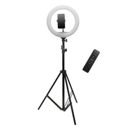 Кольцевая лампа 36 см + пульт