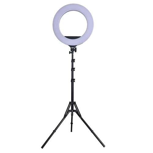 Кольцевая лампа со штативом 45 см с пультом