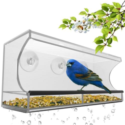 """Кормушка для птиц на окно """"Балкон"""""""