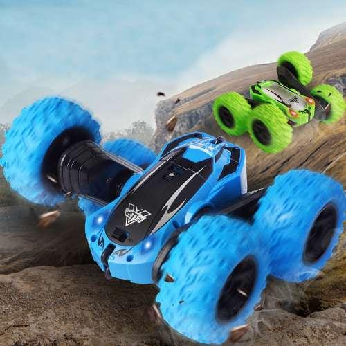 Радиоуправляемая машинка перевертыш Double Sided Stunt Car (разные цвета)
