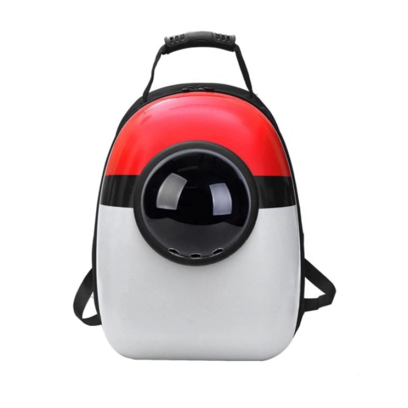 """Рюкзак переноска для животных """"Красно-белый"""""""