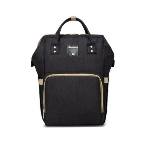 """Сумка-рюкзак для мамы """"Черный"""""""