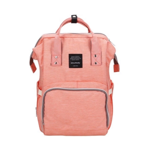 "Сумка-рюкзак для мамы ""Розовый"""