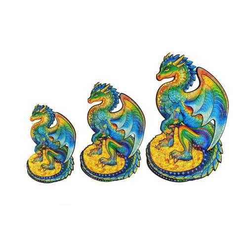 Unidragon деревянный пазл «Оберегающий дракон»