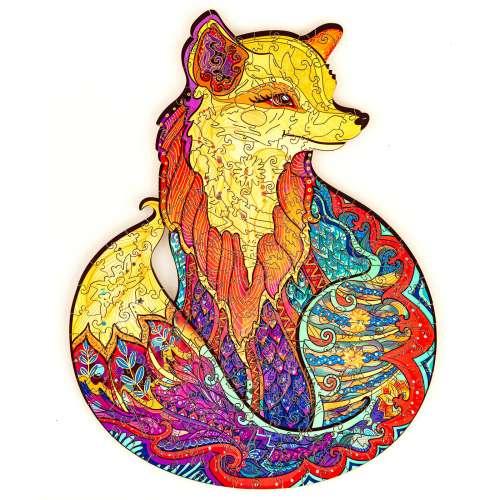 Unidragon деревянный пазл «Обольстительная лисичка»