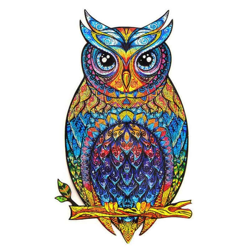 Unidragon деревянный пазл «Чарующая сова»