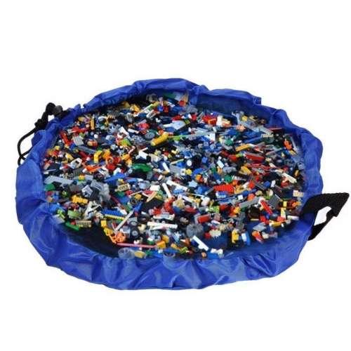 """Сумка-коврик для """"Лего"""" и игрушек."""