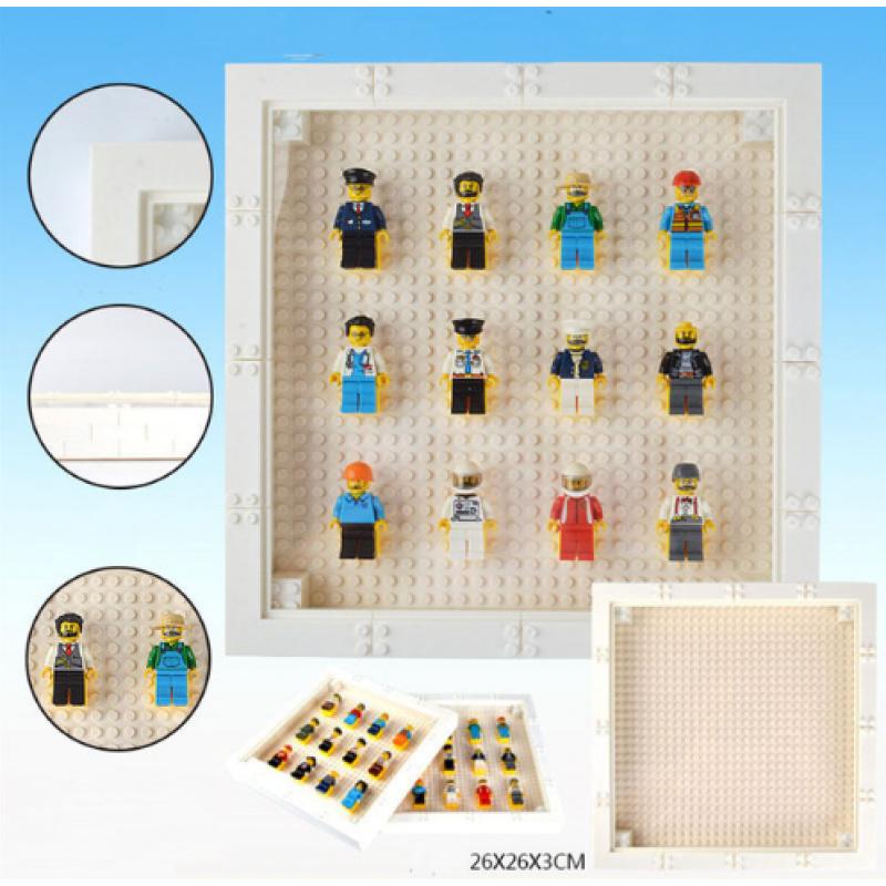 "Рамка квадратная для хранения ""минифигурок Лего"""