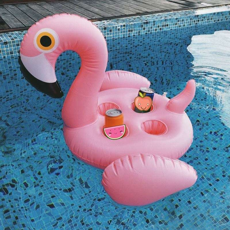 """Надувной гигантский подстаканник """"Фламинго"""""""