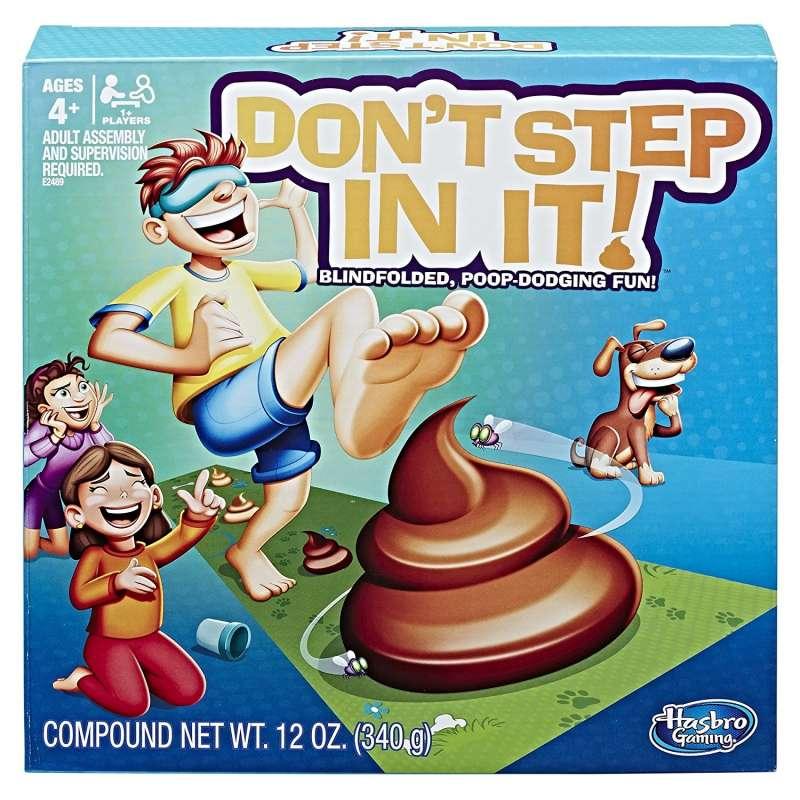 Игра Не наступи! Не вляпайся (Don't step in it!)