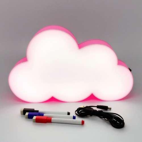 """""""LightBox"""" светильник для записей маркерами облачко"""