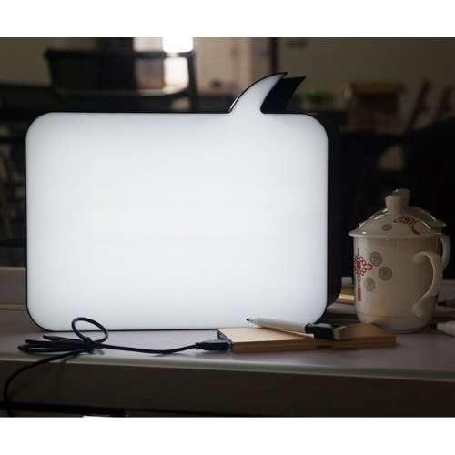 """""""LightBox"""" светильник для записей маркерами прямоугольный"""