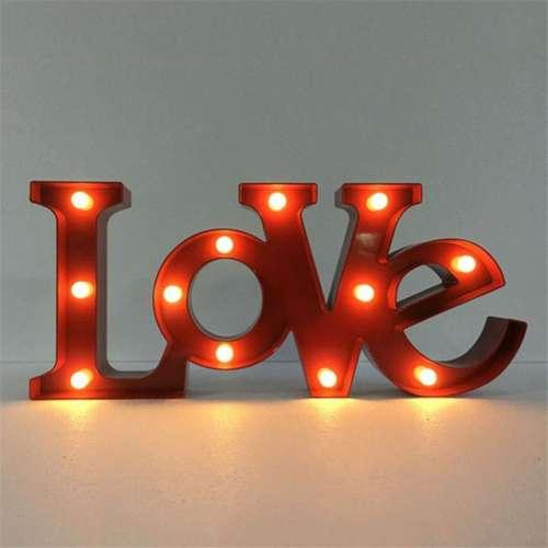 """Светильник ночной """"LOVE"""" (50см)"""