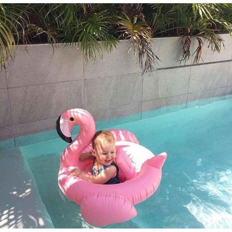 """Надувной круг """"Фламинго"""" для детей"""