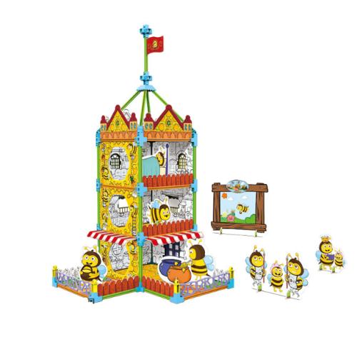 "Румбокс-раскраска ""Замок пчёл"""