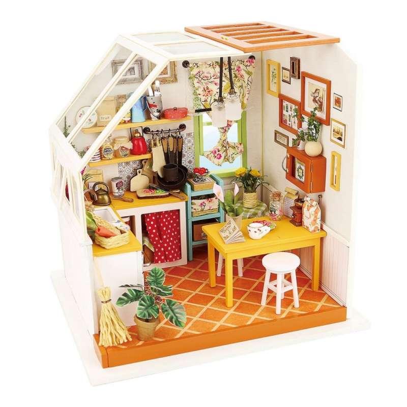 """Кухня в мансарде """"Jason's kitchen"""""""