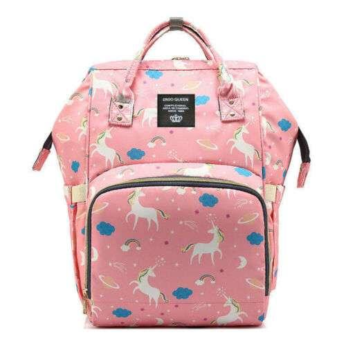 Сумка-рюкзак для мамы Living Travelling Share Единорожки