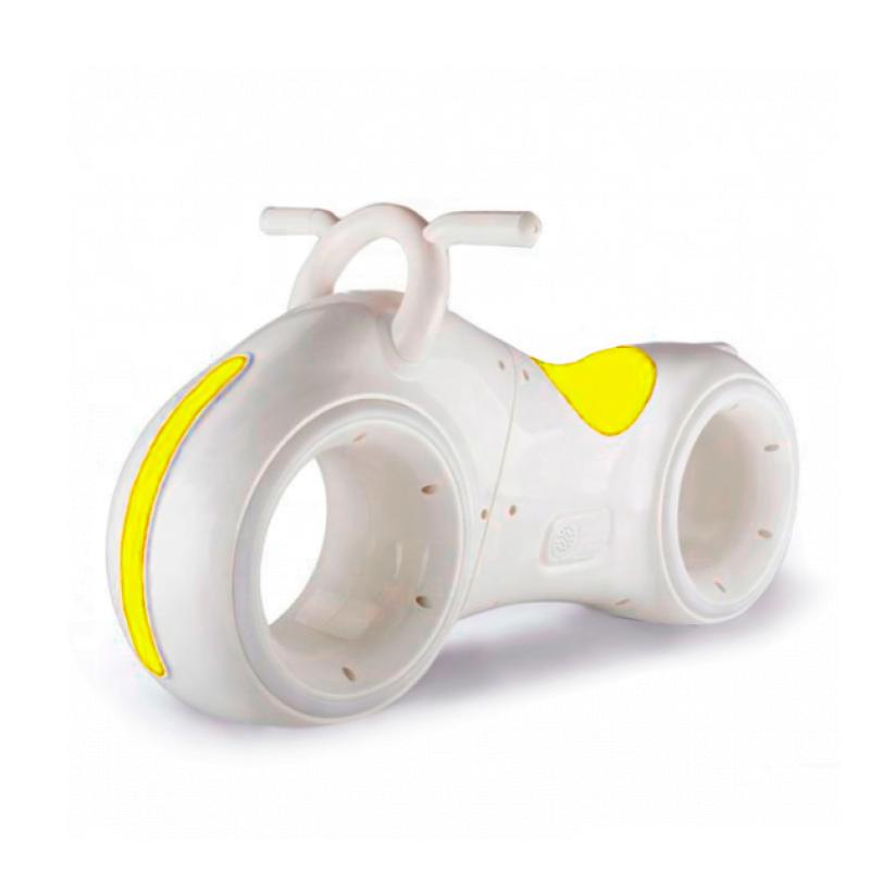 Бело-Желтый беговел Star One Scooter