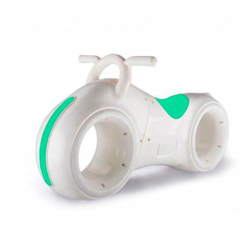 Бело-Зелёный беговел Star One Scooter