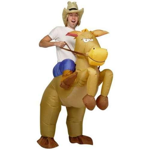 """Надувной костюм-наездник """"Верхом на лошади"""""""