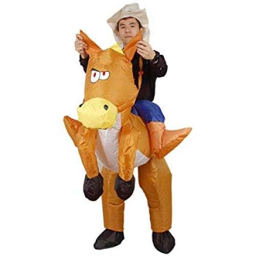 Надувной костюм-наездник Верхом на лошади