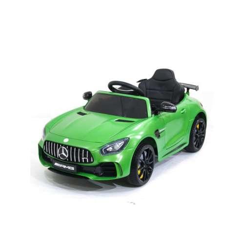 Детский электромобиль Mercedes AMG GT R 2.4G (Зелёный)