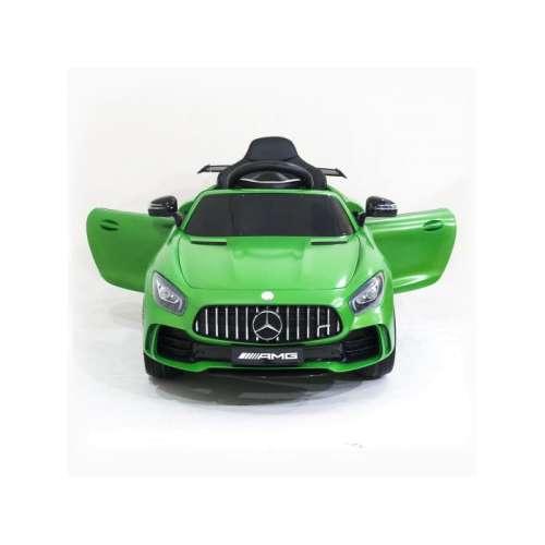 Детский электромобиль Mercedes Benz AMG GT R 2.4G (Зелёный)